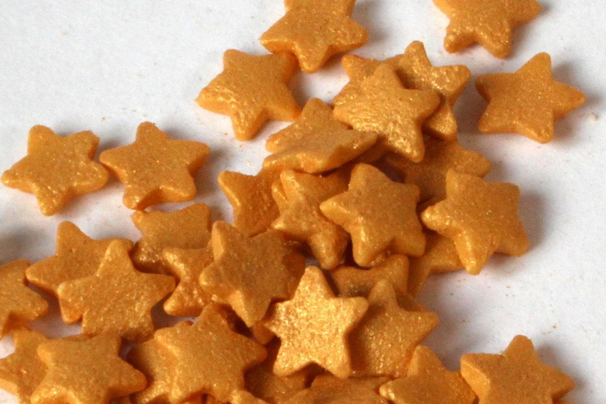 Zvaigznītes zelta 6mm 600g