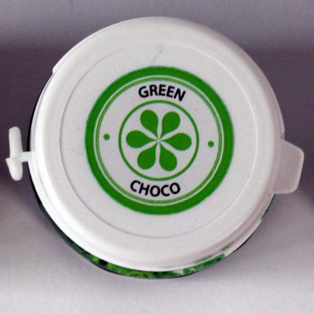 Zaļa krāsviela želejā šokolādei 35g