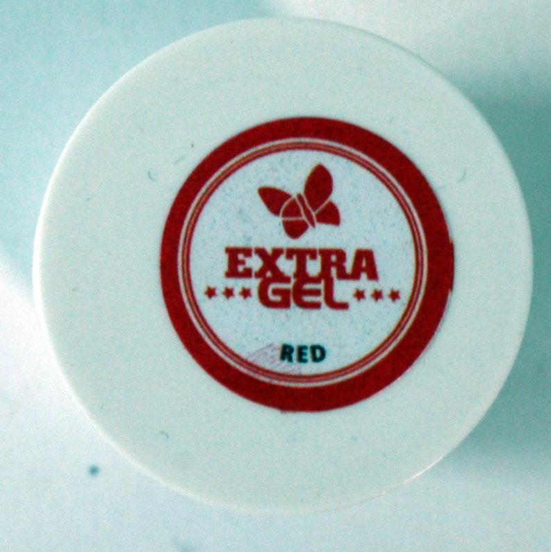Sarkana krāsviela EXTRA GEL 35g