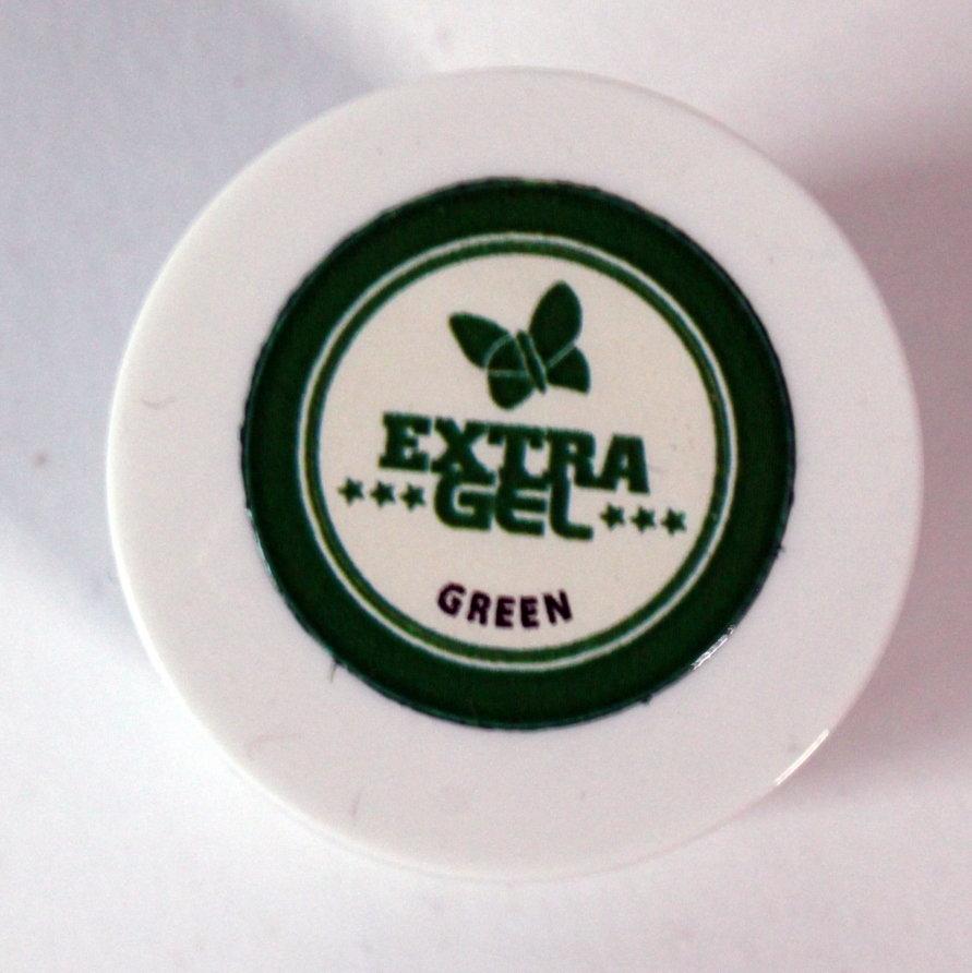 Zaļa krāsviela EXTRA GEL 35g