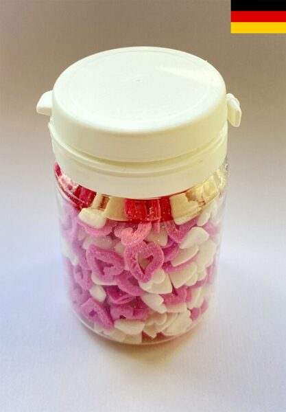 """Hearts red/white """"Open Hearts"""" 40g"""