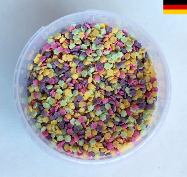 Flowers with purple small 150g