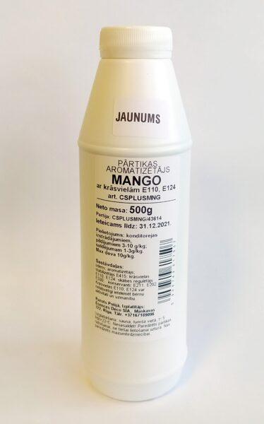 Mango pārtikas aromatizētājs ar krāsu 500g