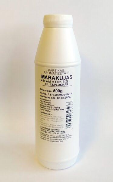 Marakujas pārtikas aromatizētājs ar krāsu 500g