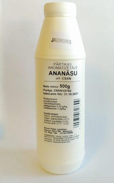 Ananāsu pārtikas aromatizētājs 500g